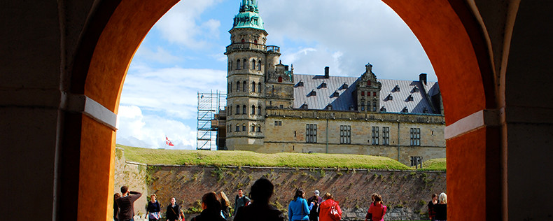Spring Students Read Shakespeare at Hamlet's Castle