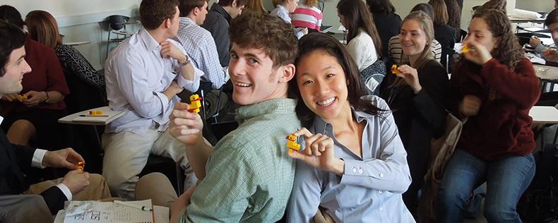 DIS Summer Student Visits LEGO Headquarters
