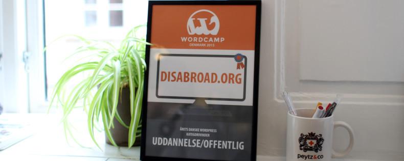 DIS Wordpress Award