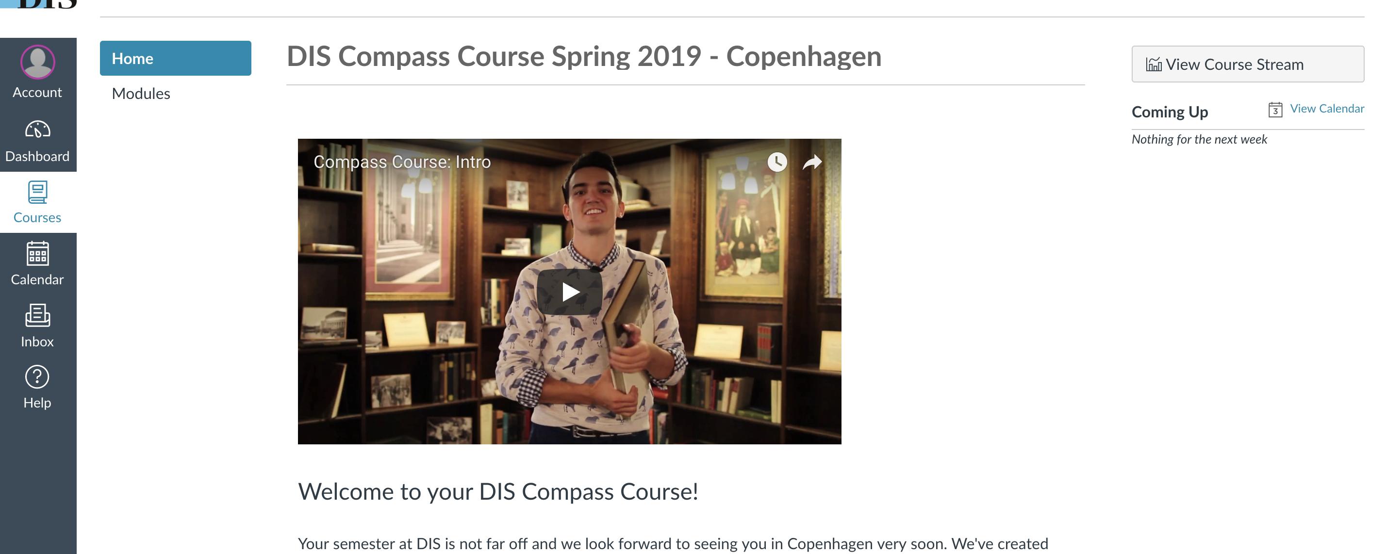 Compass: Online Pre-Departure Course | DIS