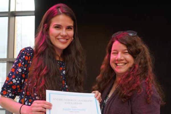 Natalie, Merit scholarship