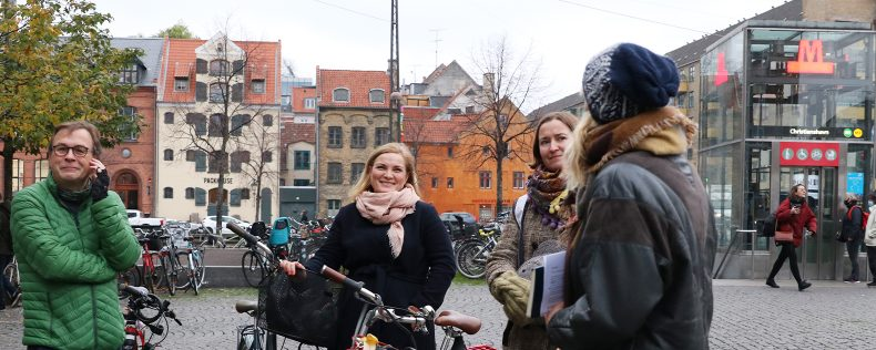 DIS Staff and Faculty Learn about Tracing Colonialism in Copenhagen