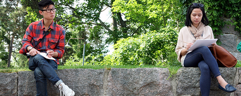 Summer study tour to Finland and Sweden, Architecture, Interior, Urban Design, DIS Copenhagen