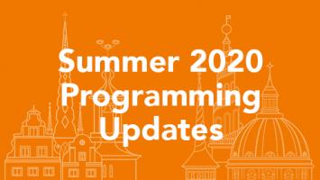 Summer 2020 Programming Updates