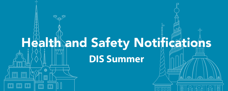 DIS - Summer Health and Safety Notifications