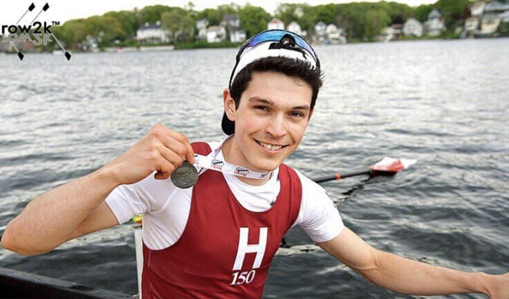 Sean rowing