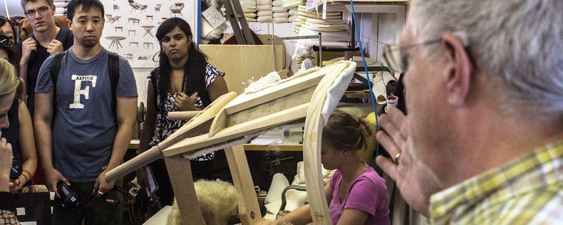DIS Copenhagen, Furniture Design Studio, Week-long study tour to Sweden and Finland
