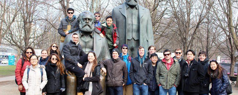 DIS Copenhagen, Game Development: Programming and Practice, Week-long study tour to Berlin and Frankfurt