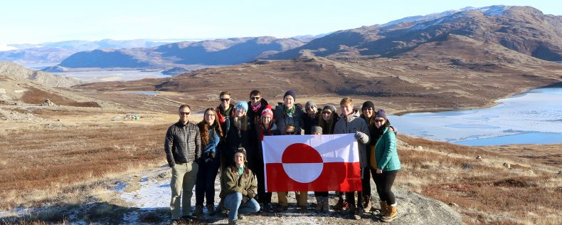DIS Copenhagen, Ice Cores and Ice Ages, Week-long study tour to Greenland