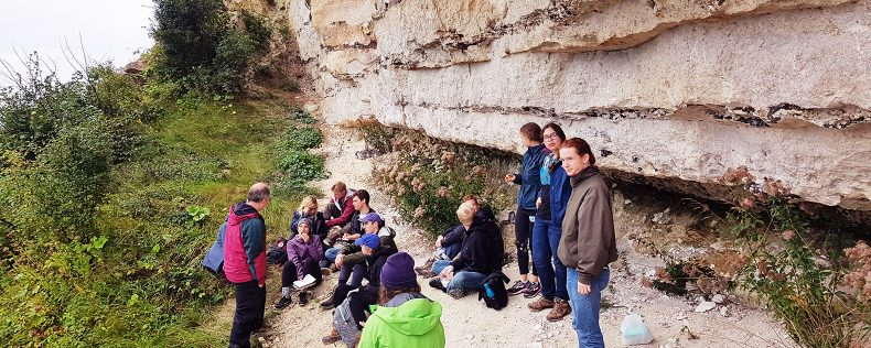 DIS Copenhagen, Ice Cores and Ice Ages, core course week study tour to Western Denmark