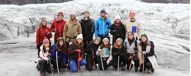 Glaciers and Human Impact: Icelandic Climate Change Case Study, semester core course at DIS Copenhagen