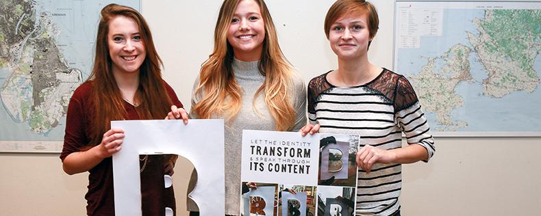 Graphic Design Foundations Studio, semester core course at DIS Copenhagen