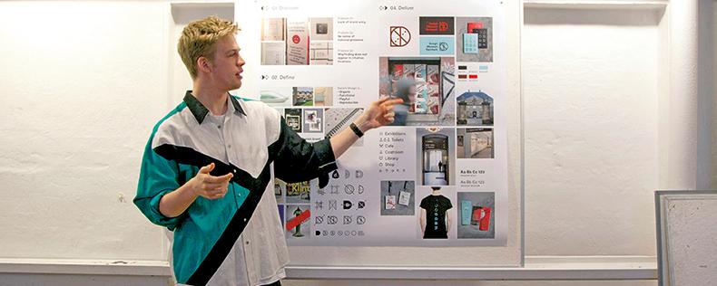 Graphic Design Studio, semester core course at DIS Copenhagen