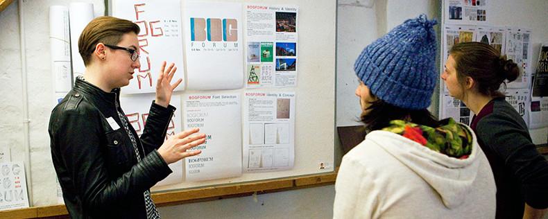 Graphic Design Studio, Core Course