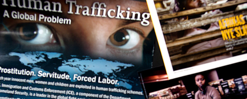 human trafficking as a global problem and domestic problem Human trafficking, believed to be the third-largest criminal activity in the world, is a form of human slavery which must be addressed at the interagency level.