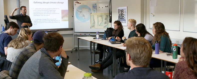Ice Cores and Ice Ages: Greenlandic Climate Change Case Study, Core Course