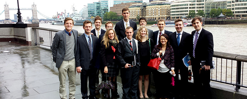 London, Week-Long Study Tour, International Business Program