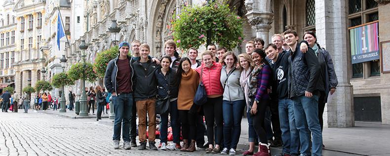 Brussels-Paris, Week-Long Study Tour, Global Economics Program