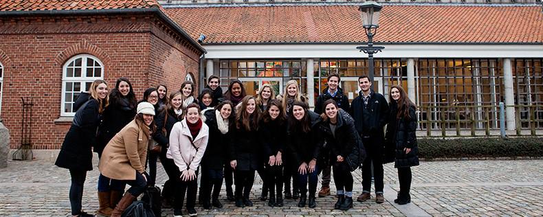Western Denmark, Core Course Week Study Tour, Communication Program