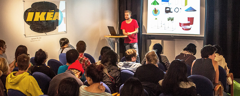 Furniture Design study abroad program  study tour to IKEA in Sweden. Furniture Design   DIS Copenhagen Semester