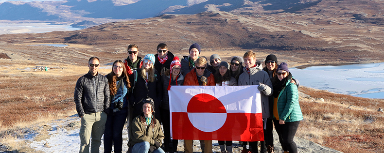 DIS Copenhagen, Week-long Study Tour, Environmental Science of the Arctic, Greenland