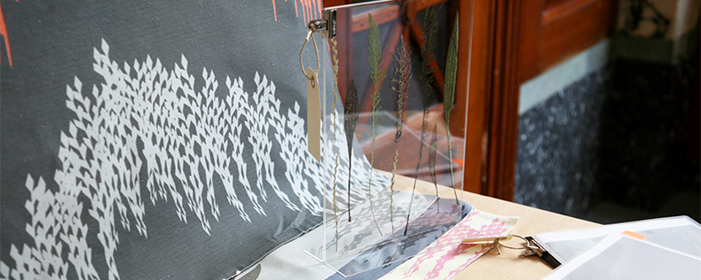 Textile Design in Scandinavia Workshop, elective course at DIS Copenhagen