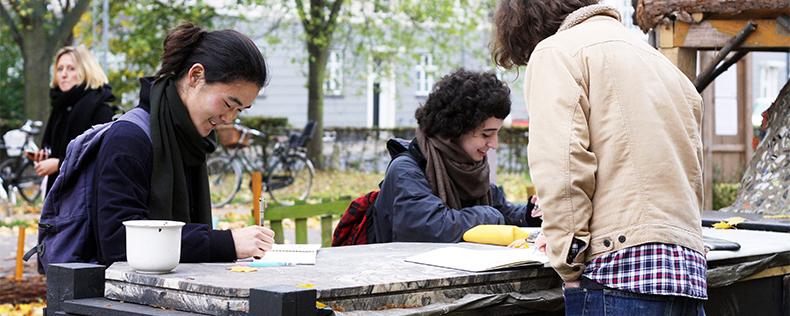 Urban Design Studio, semester core course at DIS Copenhagen