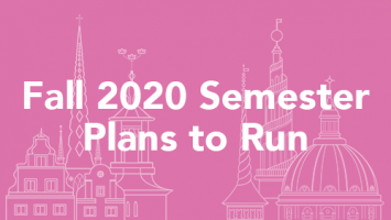 Fall 2020 Semester Plans to Run