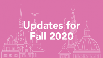 Updates for Fall 2020