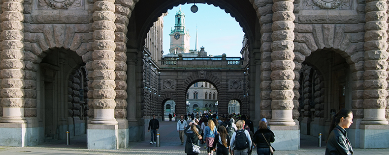 Swedish Politics and Society, elective course at DIS Stockholm