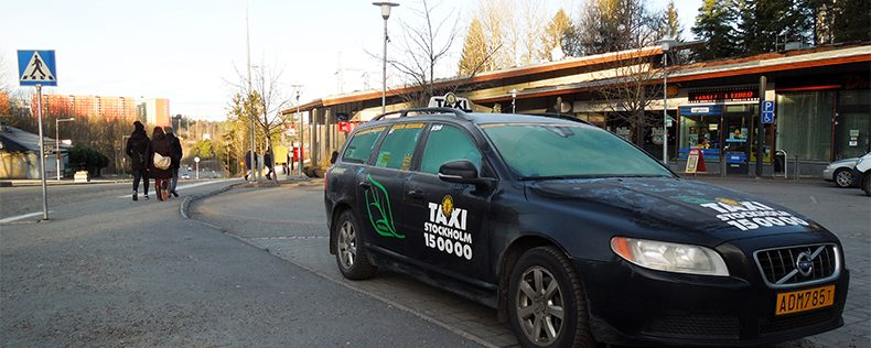 Taking a taxi, DIS Stockholm