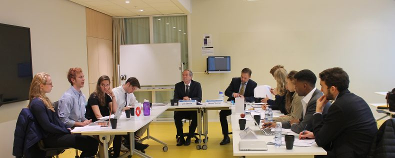 European Security Dilemmas and Intelligence at semester core course at DIS Stockholm