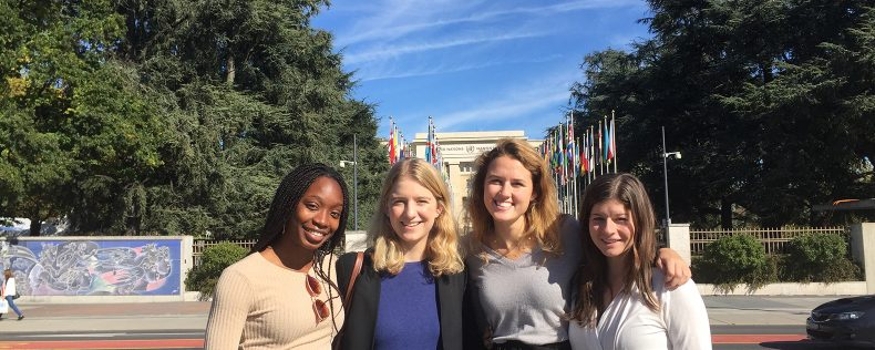 Geneva, Week-long study tour, Public Health and Migration, DIS Stockholm