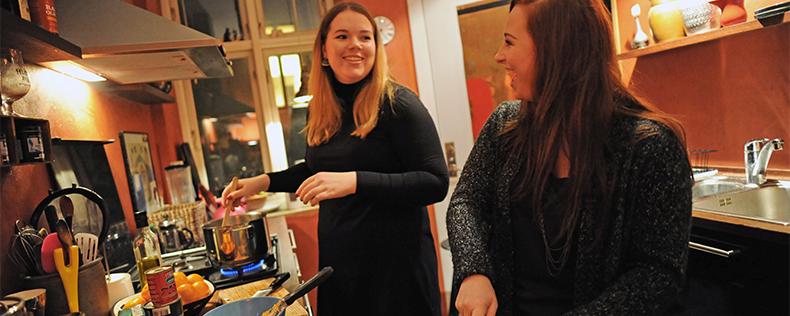 Udlej til DIS og få en amerikansk roommate, DIS i Danmark